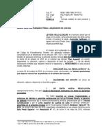 Escrito Nulidad de Acto Procesal - Leyden Vela Alencar