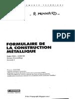 Dokumen.tips Formulaire de La Construction Metallique