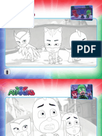 PJ Masks Activity Sheets