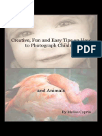 Creative, Fun and Easy Tips on How to Photograph Children and Animals - Melisa Caprio.epub