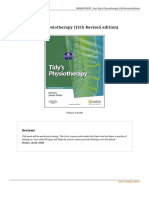 Tidy x27 s Physiotherapy 15th Revised Edition Book