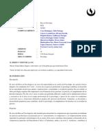 Sylabus del curso de Etica en psicología
