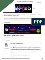 NAND Chip Mask ROM Mode Short Location - FreakTab.com