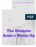 The Ultimate Actor s Warm-Up PDF.