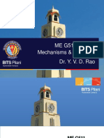 ME G511 Lect 24 Dynamic Modelling Nov 2018