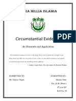 Circumstantial Evidence RESEARCH PAPER.docx