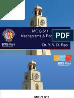 ME G511 Lect 7 Translation Matrix Sept 2018