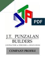JT Punzalan Builders Profile