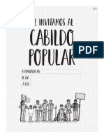 Documento 4 (Afiche, 2 Invitación, 3 Resultados, 4 Comunicado)