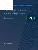 John Mackenzie Owen (Author) - The Scientific Article in the Age of Digitization (Information Science and Knowledge Management) (2006).pdf