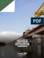 Propuesta de Competencias Para Consultores Ambientales