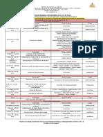 40. Agenda Semana Noviembre 18 Al 22 de 2019