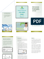 Brochure Pacientes de Remplazo Articular