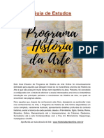 Guia de Estudos História Da Arte Online - Completo