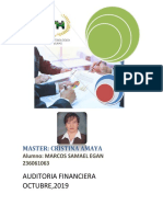 Tarea 1 Auditoria Financiera