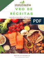 Livro de Receitas - Pacientes Natalia Stedile - Reeducação Alimentar 2018