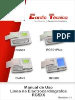 Manual Usuario Cardiotecnica ECG