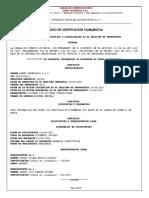 4. Certificados de Inscripción Vigente RUP