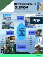 Caracteristicas generales del Ecuador