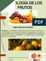 Fisiologia de Las Frutas