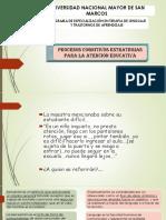 Procesos Congnitivos Estrategias Para La Atencion Educativa