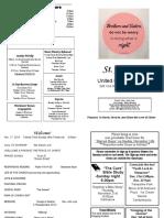 St Andrews Bulletin 111719