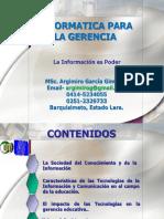 Presentacion Informatica Para Gerencia