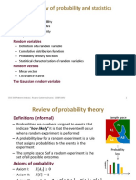 Probability and Statisctics