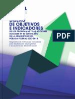 DISEÑO DE OBJETIVOS E INDICADORES
