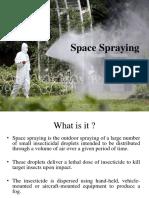 Space Spraying