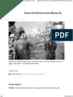 Foto Icônica Da Guerra Do Vietnã Resume Dilemas Do Jornalismo