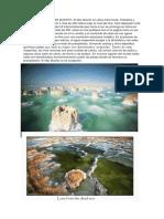 Evaporitas en El Mar Muerto