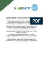 Informe Sobre El Aborto