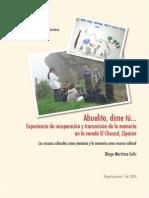 Memoria y Patrimonio Cultural- La Chaguya, Zipacon (Cundinamarca)