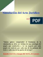 SIMULACION DE ACTO JURIDICO