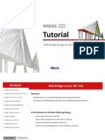 Slab Bridge using midas Civil