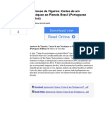 Apoteose Da Vigarice Cartas de Um Terrqueo Ao Planeta Brasil Portuguese Edition by Olavo de Carvalho b00idejli2