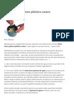 Cómo Hacer Pintura Plástica Casera _ Blog Sindinero
