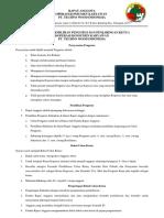 Tata Cara Pemilihan Pengurus Koperasi
