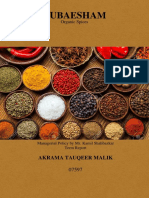 Spice Industry