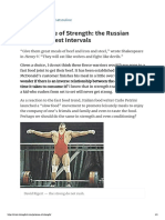 The Patience of Strength_ the Russian Science of Rest Intervals - Pavel Tsatsouline