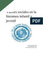 Valores Sociales de La LIJ