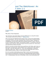 The Word and the Watchtower an Exegesis of John 11
