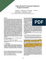 Framework for Instruction-level Tracing