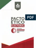 ECE2020 Pacto Ético Electoral - Acta de Compromisos - Noviembre 2019