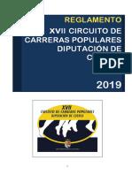 reglamento circuito 2019