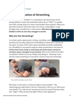 The Miseducation of Stretching - Brandon Hetzler
