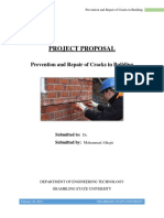 Prevention and Repair of Cracks in Building