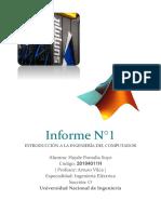 Informe 1 INTRODUCCION A LA INGENIERIA DEL COMPUTADOR