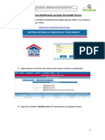 NSTP - Instructivo Para Las ET - Modificación de Datos de Entidad Técnica